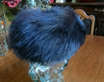 Reduced Vintage Schiaparelli Fur Hat