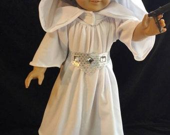Doll Clothes, Princess Leia Costume