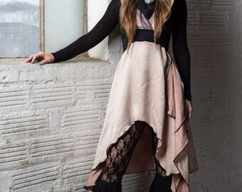 Pink Krinckle Hoodress LG