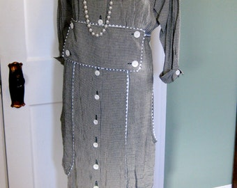 1920's Reproduction Day Dress