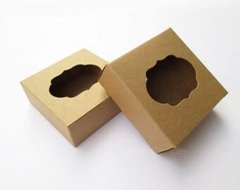 Bulk Gift Box, Soap Box, Macaroon Box Set of 50