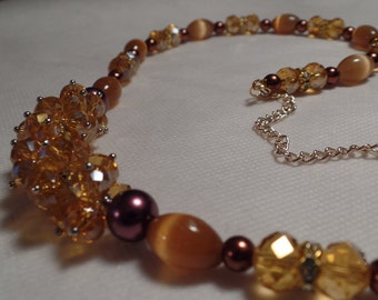 """30"""" Brown  Necklace"""