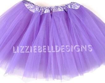 RESERVED ... 4-Layer Lavender Ballet Tutu / 4 layer black ballet