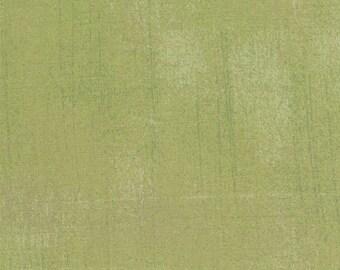 Moda Grunge Basics SPEARMINT Green Mottled Background Fabric 30150-83 BTY