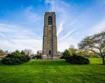 Carillon at Baker Park, in Frederick, Maryland.   Photo Print, Stretched Canvas, or Metal Print.