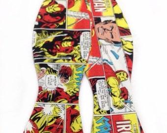 Iron Man Comic Inspired Self Tie Freestyle Bow Tie Marvel Comics Inspired