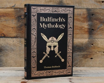Book Safe - Bulfinch's Mythology - Leather Bound Hollow Book Safe