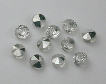 Swarovski Ultra-Rare Art 20/5102 Crystal Comet Argent Light Beads 6mm (24)