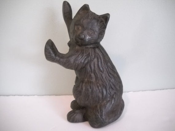 Cast iron cat door stopper - Cat door stoppers ...