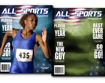 All Sports Photoshop Magazine Cover