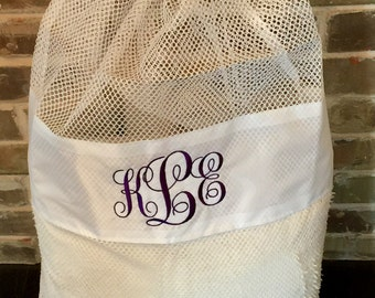 Personalized Laundry Bag - Mesh Laundry Bag - Personalized Gifts - Monogrammed - Laundry Bags - Camp - Camp Laundry Bag - Graduation Gifts