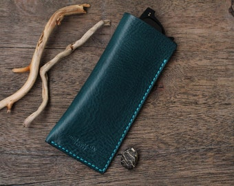 Leather Glasses Case, Leather Glasses Box, Eyeglass Case