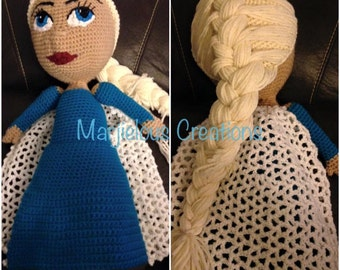 Ice Queen and Snow Princess crochet pattern