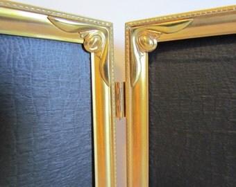 Vintage Wedding Frame Double Art Deco Pinterest Wedding Picture Frame  8 x 10  Gold Metal Photo Frame (AA)