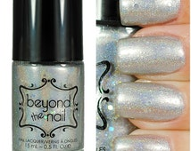 Frosty - Holographic Silver Jelly Nail Polish