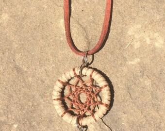Arrowhead Dreamcatcher Necklace