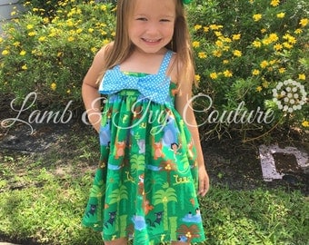The Jungle Book Hattie's Big Bow Sun Dress with Free Shipping
