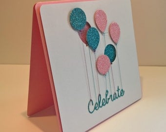 Celebrate Balloon Card