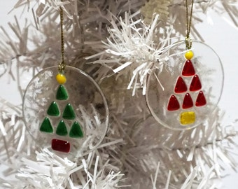 Fused glass Bauble – Christmas decoration