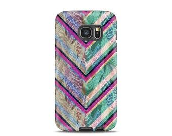 Chevron Samsung galaxy s4 case Samsung galaxy s5 case Leaf Samsung galaxy s7 case Chevron Samsung galaxy s6 case
