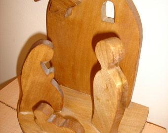 wooden creche
