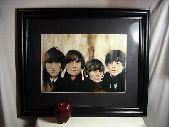 Beatles 4th Studio Album Cover Print Beatles for Sale Album