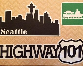 Twilight Washington State Scrapbook Die Cuts