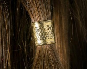 Beard Bead Kit 'Algrim' goldtone TIBETAN ALLOY beard rings Viking beard bead dwarf beard beading Celtic beard beads beard styles beard care
