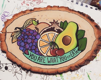 You are what you crEATe