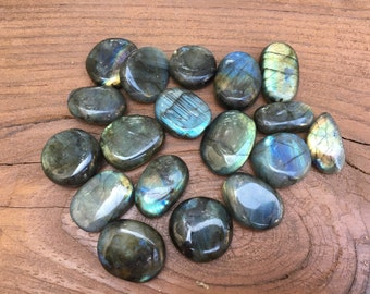 One Small Labradorite Stone