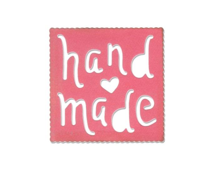 New! Sizzix Thinlits Die - Handmade Label by Eileen Hull 660763
