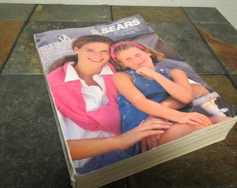 vintage 1993 SEARS Spring / Summer Annual CATALOG . 1555 pages of 1993 prices