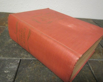 1948 WEBSTER'S LIBRARY of Universal KNOWLEDGE** The Practical Self-Educator** Including Dictionary,  ** mid century