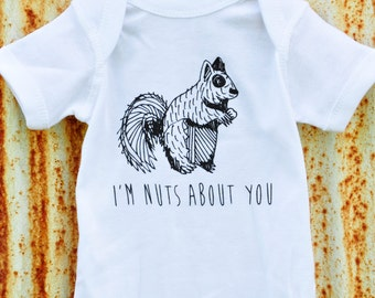 I'm Nuts About You Onesie