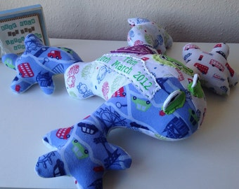 Keepsake Animal - Frog from your Baby/Adult Clothes or fabrics