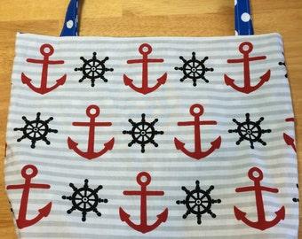Sailor Anchor Tote Bag