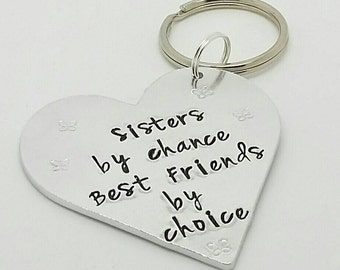 Sisters keyring great for her as a Christmas or Birthday present sisters|aunties|aunty|grandma|nan|nanny