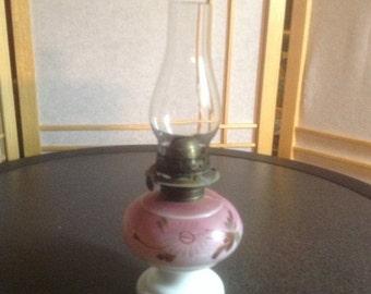 50% Off Summer Sale Antique Nellie Bly Miniature Kerosene / Oil Lamp