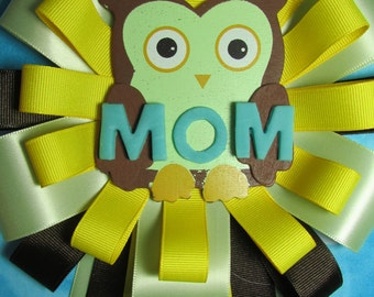 Owl baby shower corsage-Clearance Closeout