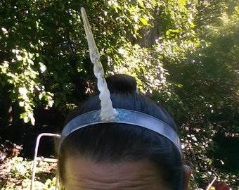 Unicorn Horn, Unicorn Horn Headband, Glitter, Unicorn Costume Sparkle Narwhal Headband Narwhal Dress up Halloween