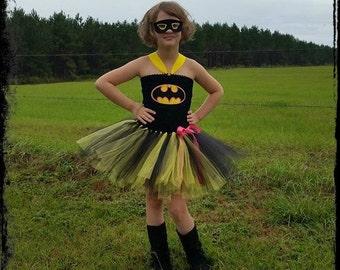 Bat Girl Tutu Halloween Costume
