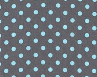 Michael Miller Fabrics - Dumb Dot Gray - CX2490-GRAY-D