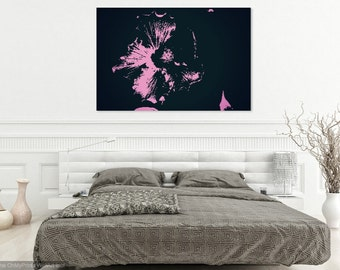 Pink Flower Canvas or Print