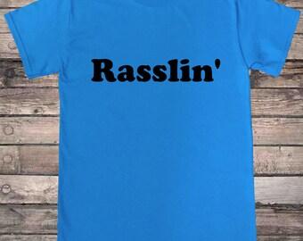 Old School Wrestling Rasslin Indie Wrestling T-Shirt