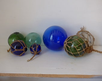 Vintage  glass fishing floats