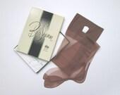 1950s Stockings / Vintage 1950s Seamed Stockings / Deadstock Nylon Stockings - 2 Pair