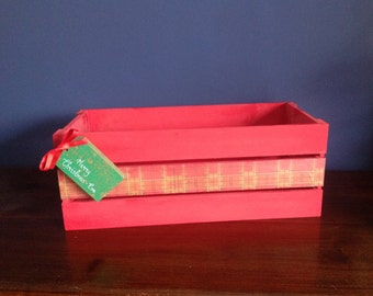 Sale 27% discount Christmas Eve Gift Crate - can be personalised