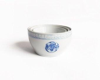 Chinese Ceramic Nesting Bowls
