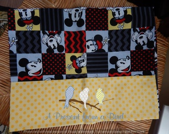 Mouse Travel Size Pillow Case - Ready to SHIP