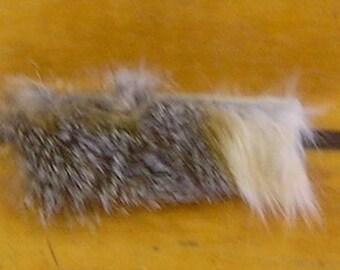 Grey Fox Fur Bracelet